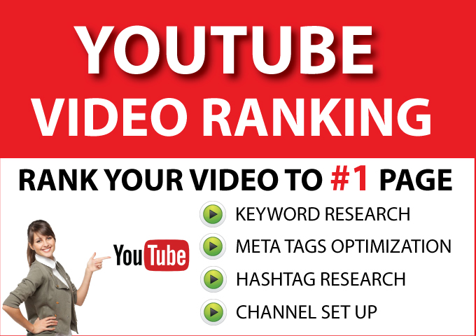 Rank Your YouTube Video to Page 1 - Guarantee YouTube Ranking
