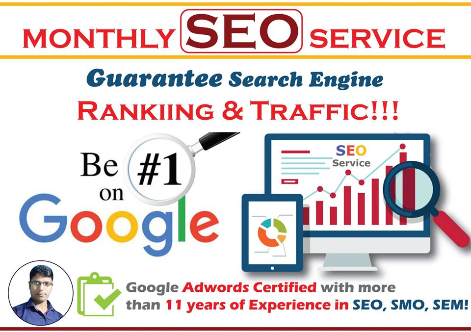Monthly SEO Service With Guarantee Search Engine Ranking