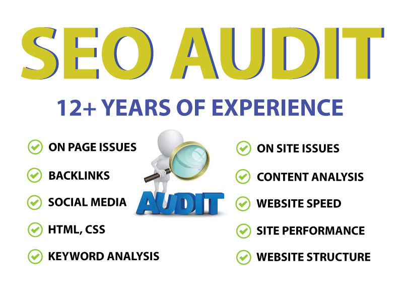 Expert Website SEO Audit Report with Action Plan for Top Google Ranking