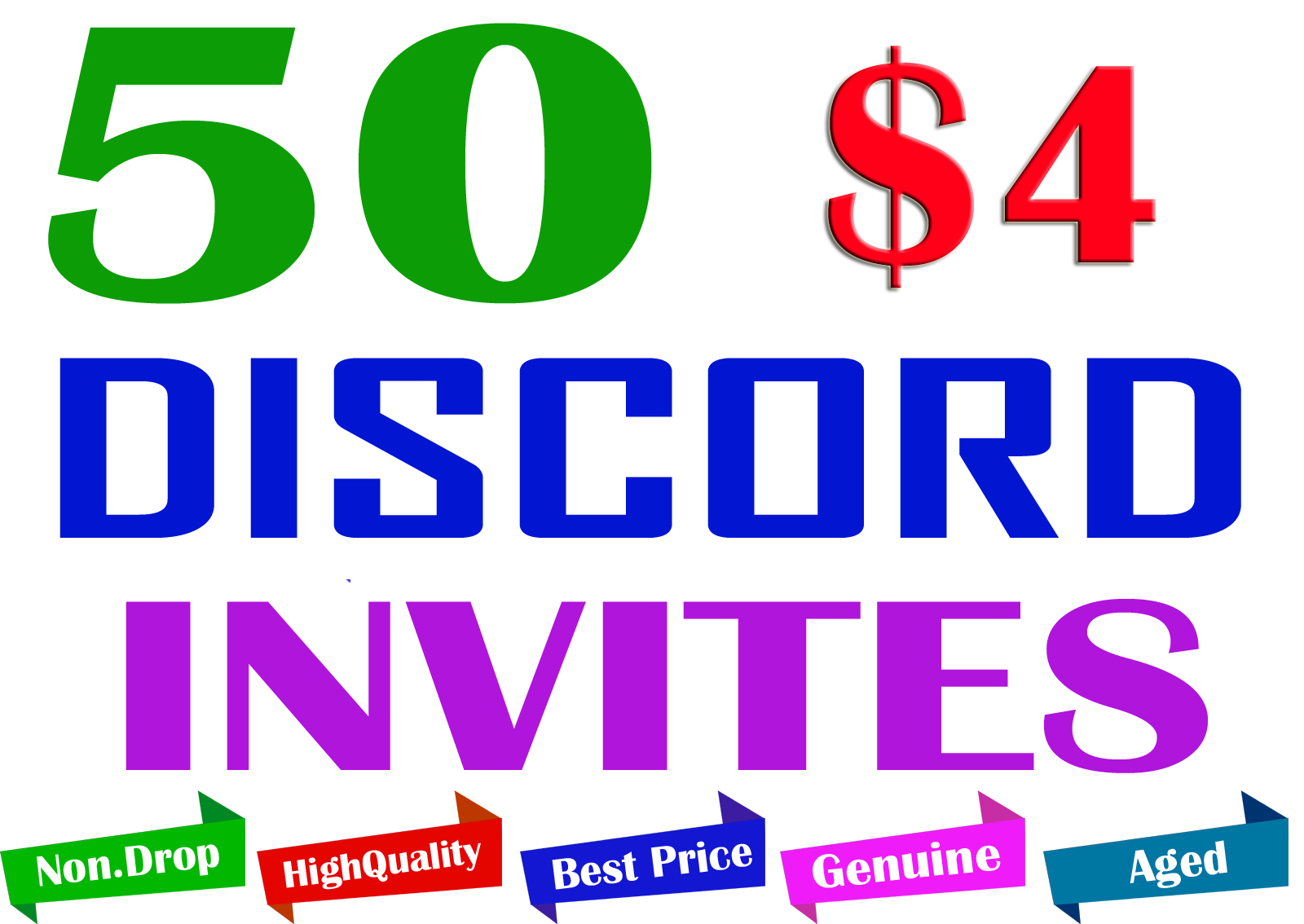 Buy 50 Discord Invites to Your Server