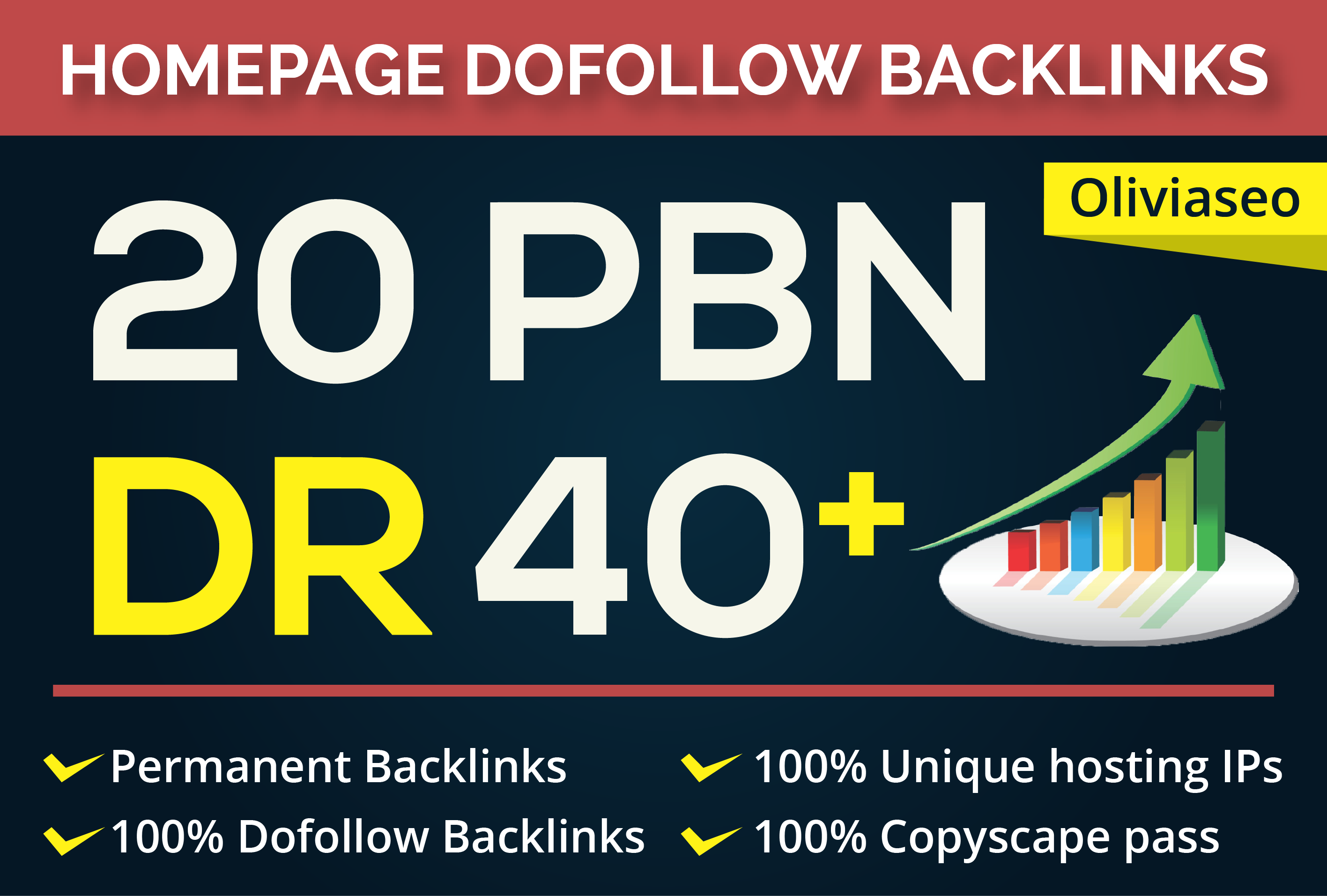 Build 20 PBN DR 40 Plus Permanent Homepage Backlinks