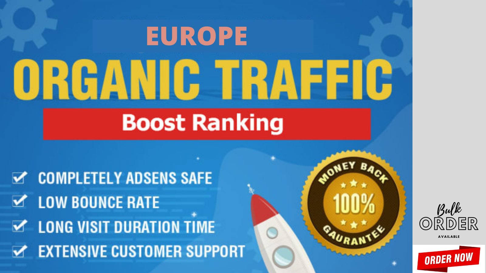 Europe Website Visitors Now Order Today to Get Bonus as well