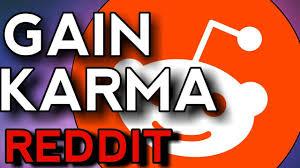 Increase your Reddit Account Karma