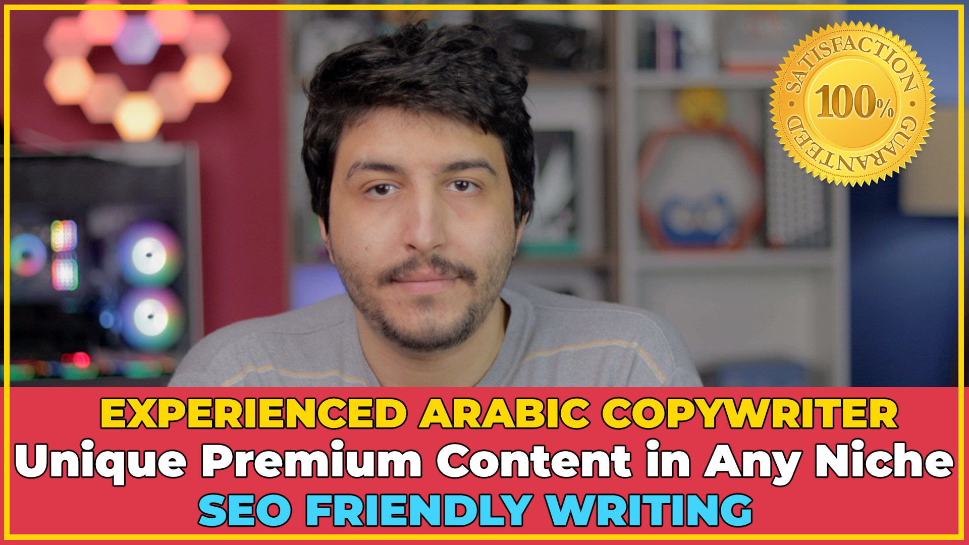 I will write unique high quality arabic content in any niche