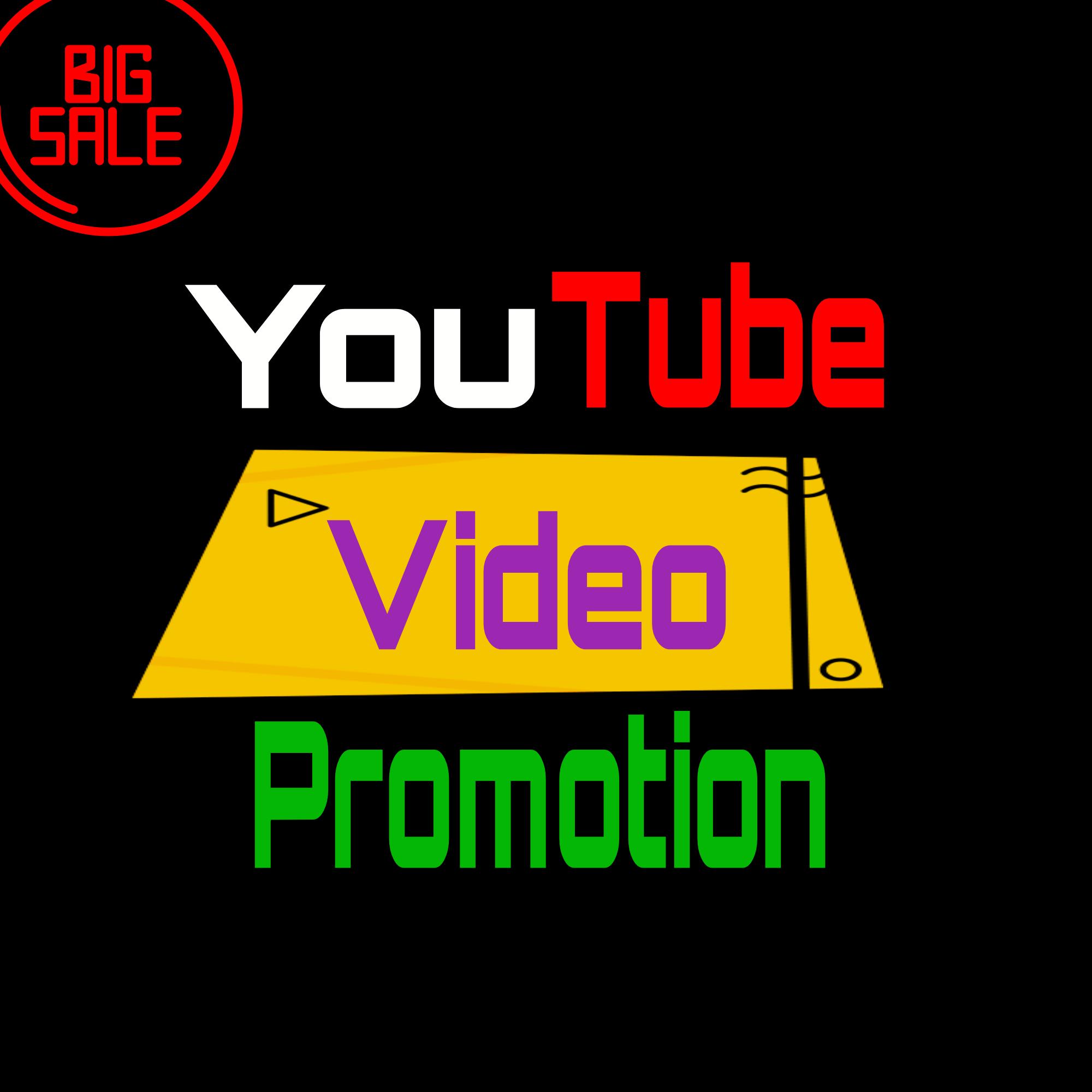 Genuine YouTube Video Promotion marketing