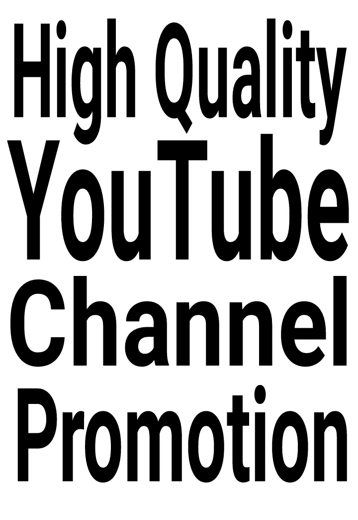 High Quality Real & Organic YouTube Promotion with fast delivery