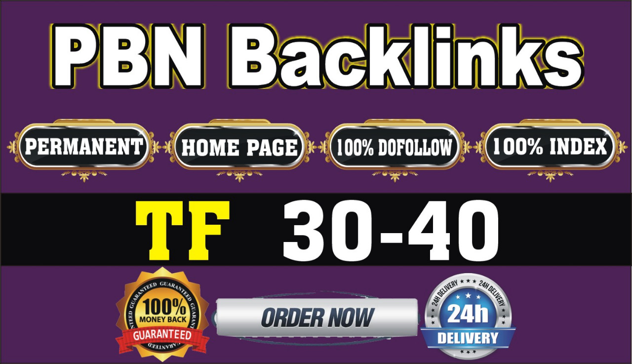 10 High Authority PBN Backlinks