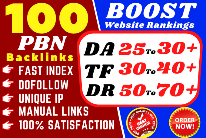 Buy High Quality DO follow backlinks with High DA, DR and TF