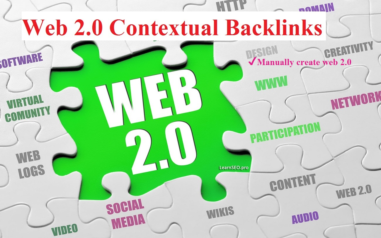 Create High Authority WEB 2.0 Properties Contextual backlinks with login