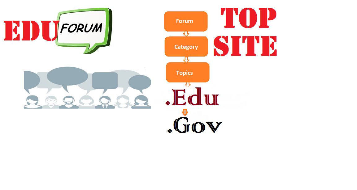 Place High Rank 12 Awesome Forum Edu Gov Backlinks,  Link pyramid SEO