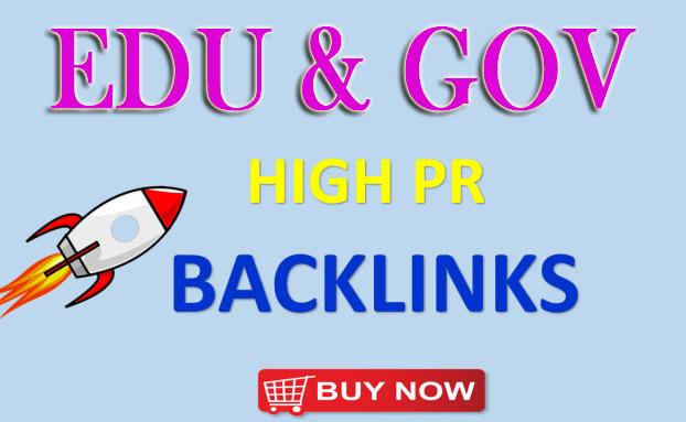 Manually Create 100 Edu-Gov Seo Backlinks for Google Ranking Help