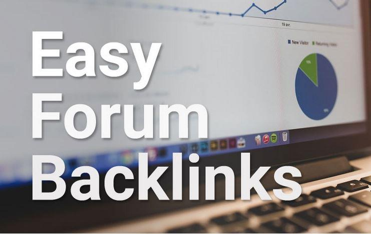 Manual create 25 high DA+ Forum Profile Backlinks