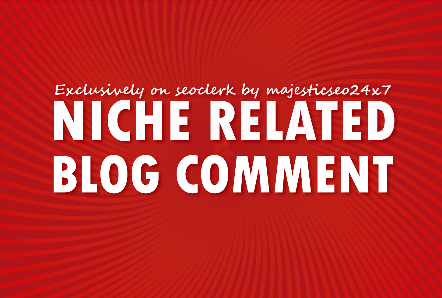 500 High DA Niche Related Blog Comment
