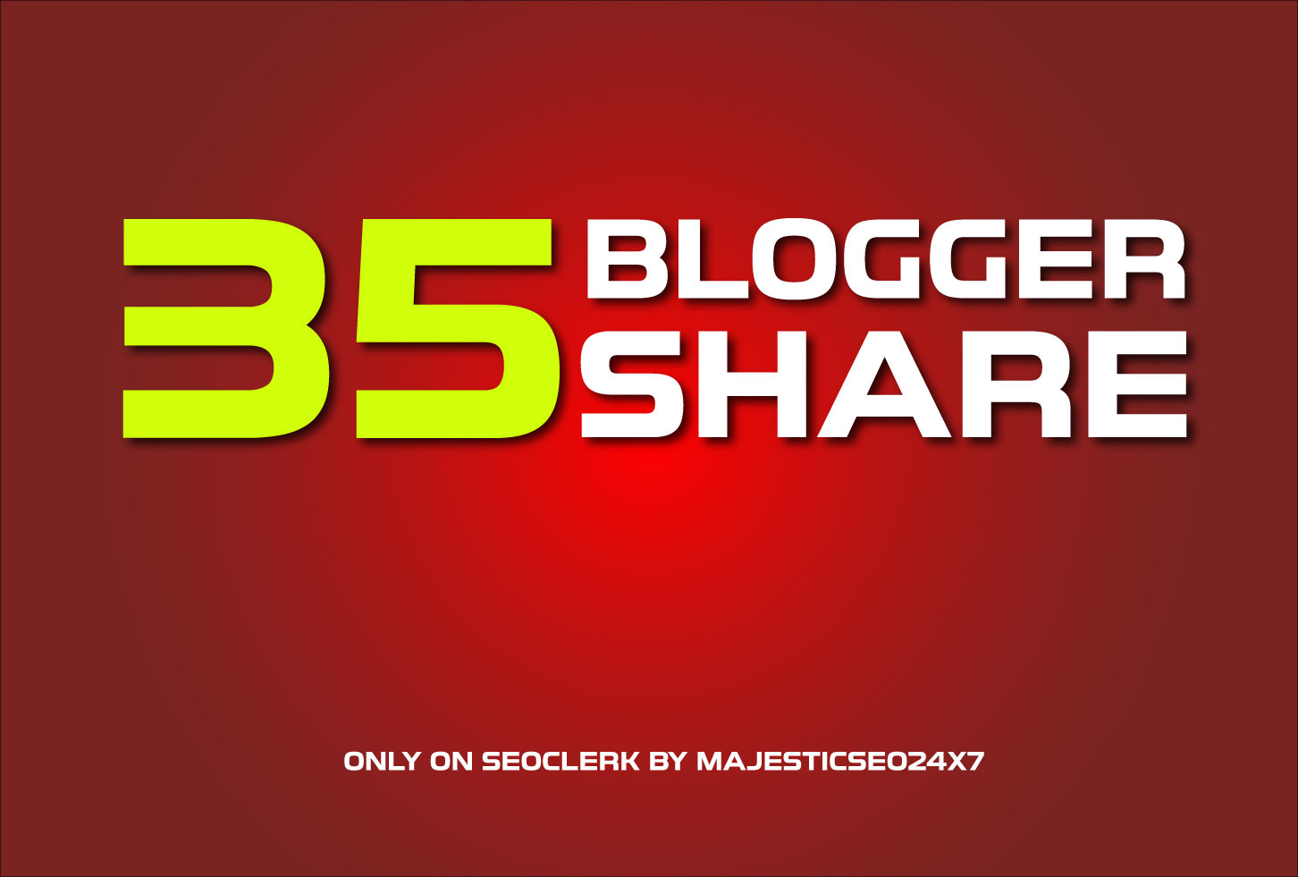 Get You 35 Blogger Shares For Your URL