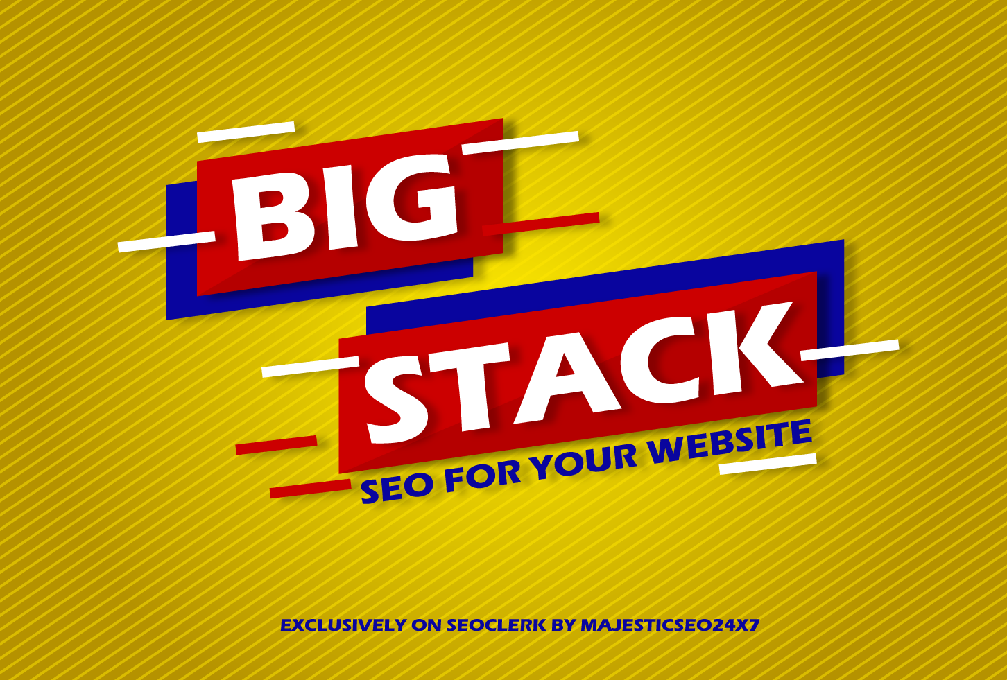 Daily Create Backlinks,  BIG STACK MONTHLY SEO for increase your website ranking on search engine