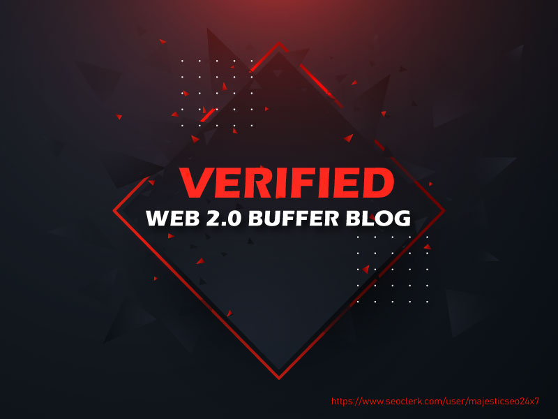 Provide 20 Verified High DA Web 2.0 Buffer Blog Properties with Login details,  Unique Content