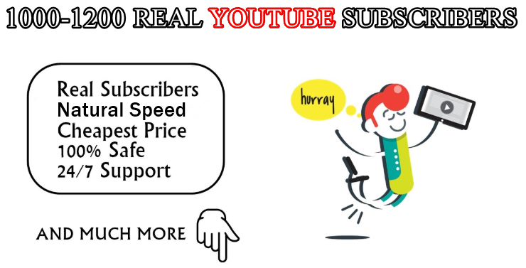 Real YouTube SUB with extra bonus