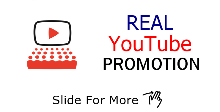 Real YouTube Promotion with extra bonus