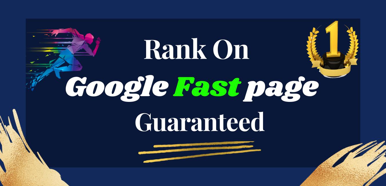 Rank On Google Fast Page Guaranteed- Advanced SEO Strategies 2021