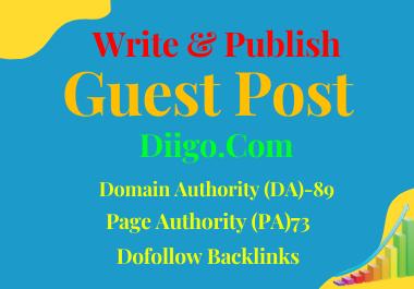 Write And Publish A Guest Blog Post On Diigo.Com