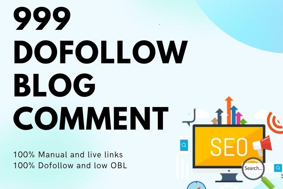 Do 250 High Da Pa Dofollow Blog Comments Manually