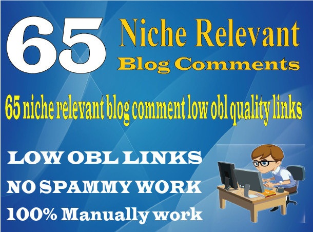 Do 65 Niche Manual Blog Comments On High Da Links