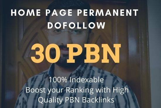 Get 30 High quality aged domain PBN's Backlinks quickly rank your website