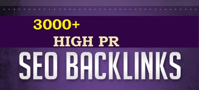 High-ranking backlink sites over 3000+ for your desired website guaranteed results