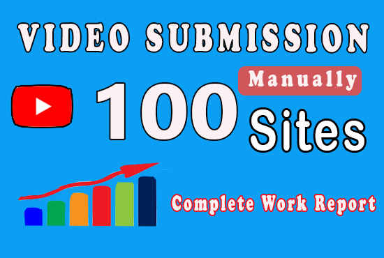 100 manual Video submission to TOP Video sharing Sites to get high natural views for lifetime