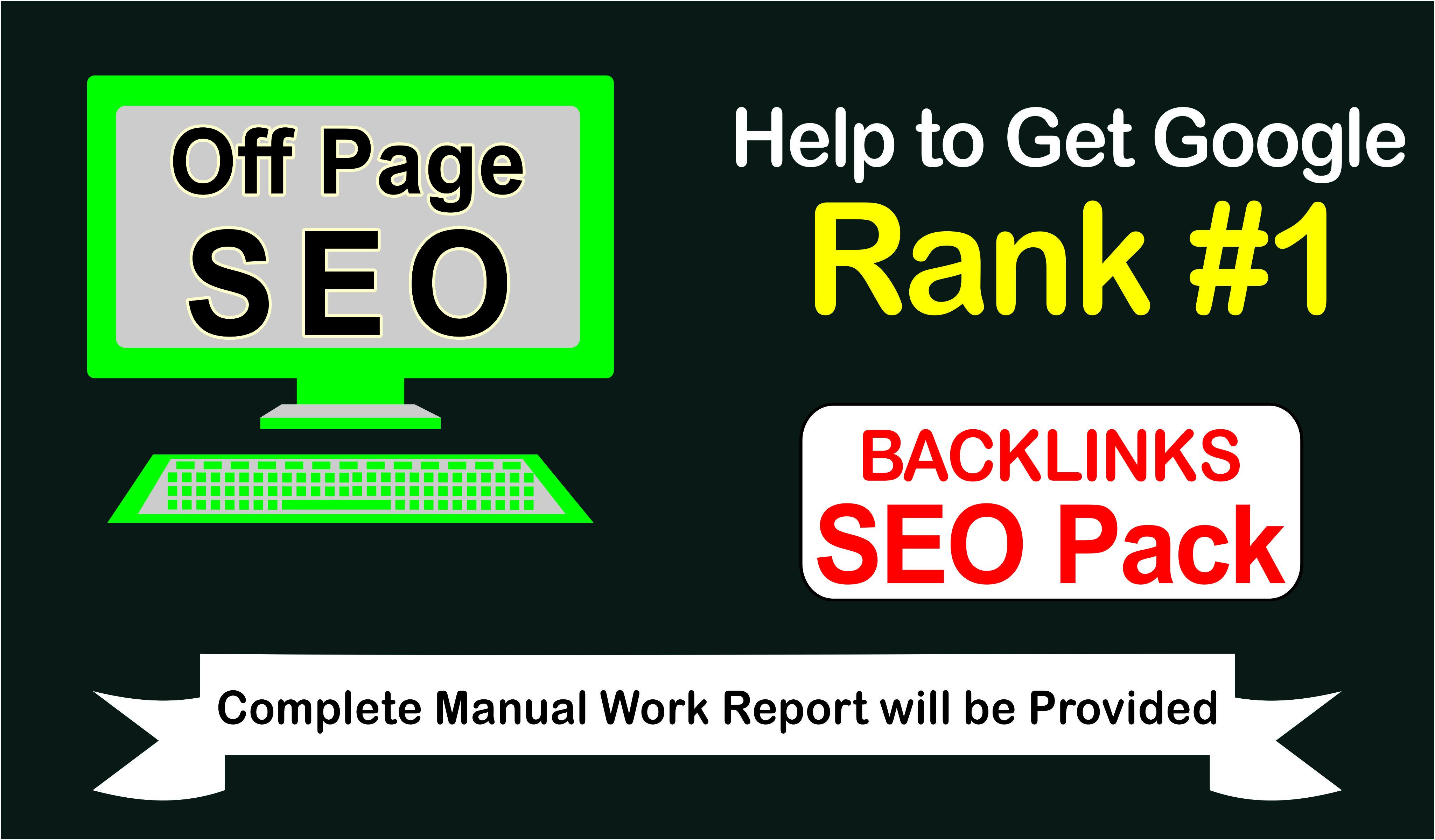 N0. 1 Google Ranking -- SEO Backlink PACK -- trusted links - White hat SEO link plan