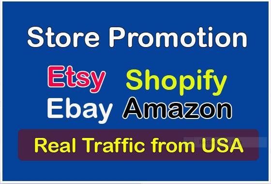 Drive 15K Real USA traffic for E-commerce Stores Only Targeted People from social networks