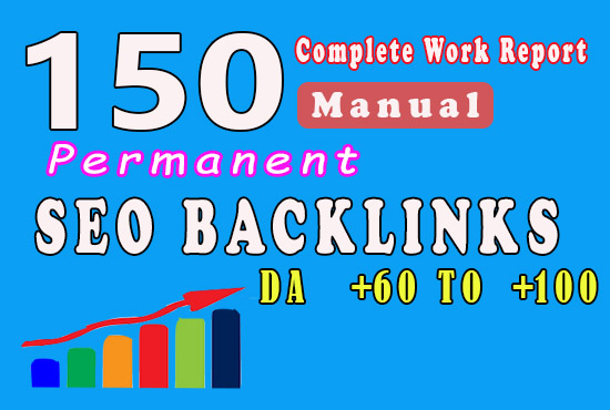 TOP Offer || 50 Manual Backlinks || DA 60 to 100 and Get fast ranking in Google