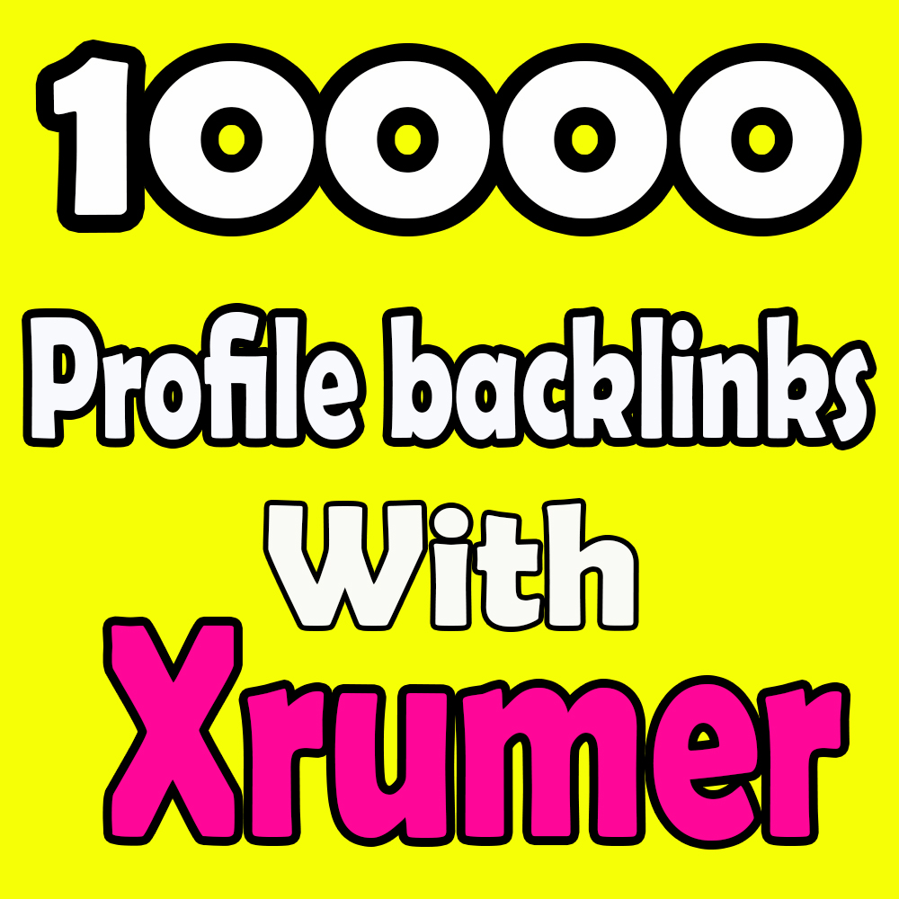 10000 forums profiles Backlinks With Xrumer