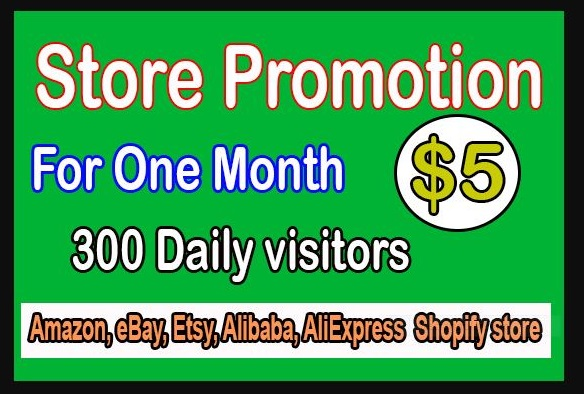 10000 USA visits Real Promotion Of Ecommerce Store In USA Only Targeted People