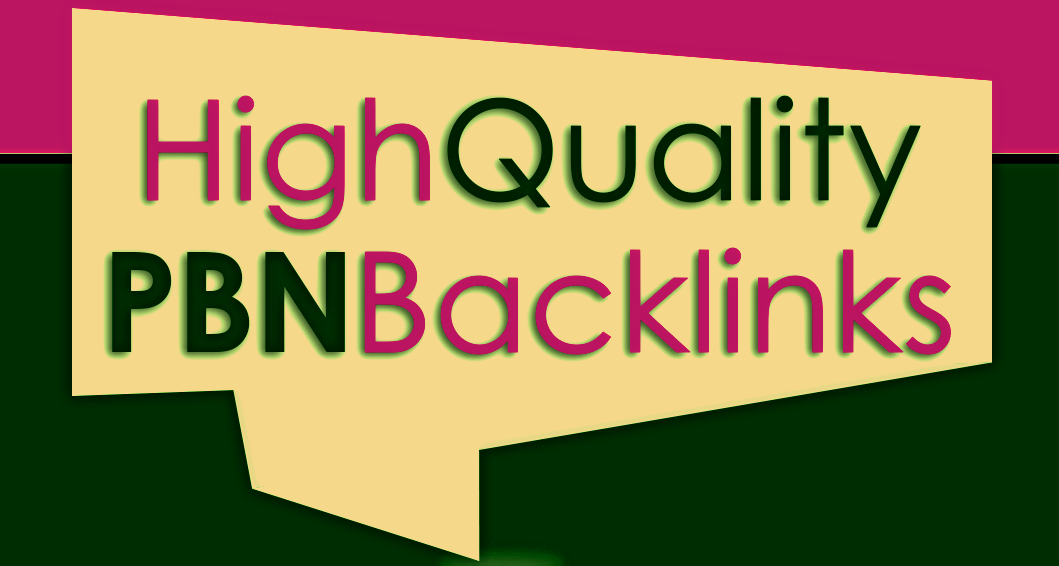 Build 10 High PA DA TF CF HomePage PBN Backlins for Your site's For 9