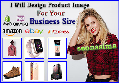 I will do design product image for your business site