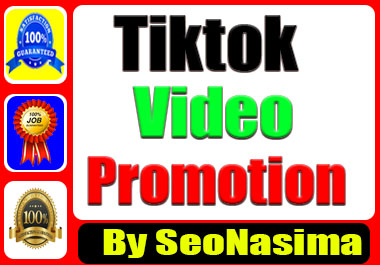 Tik-Tok Promotion Service. All tiktok User Come Here
