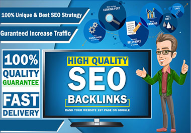 High Quality SEO Backlinks for your Website, boost website ranking,  organic traffic