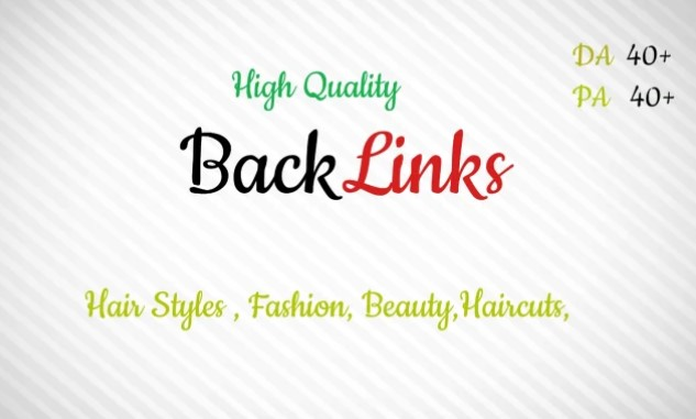 Backlink site of hairstyles and fashion.Build High PR quality backlinks PA DA 50+