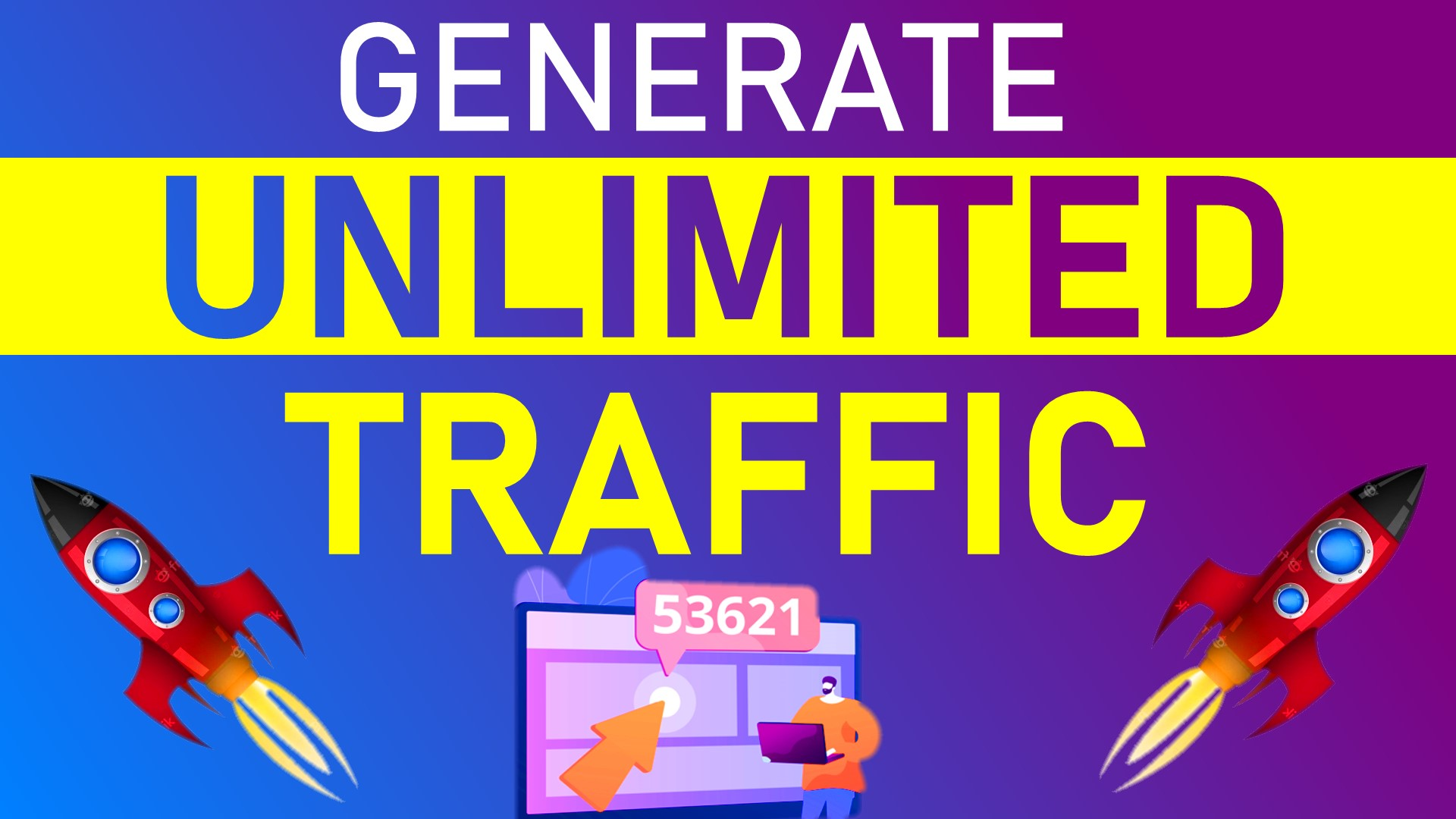Generate Unlimited Traffic for any website (No proxies needed)