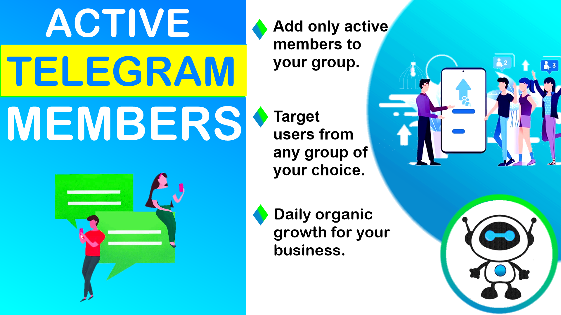 Instantly add 150 Active Telegram users from any GR0UP of your choice to your GR0UP - no bots