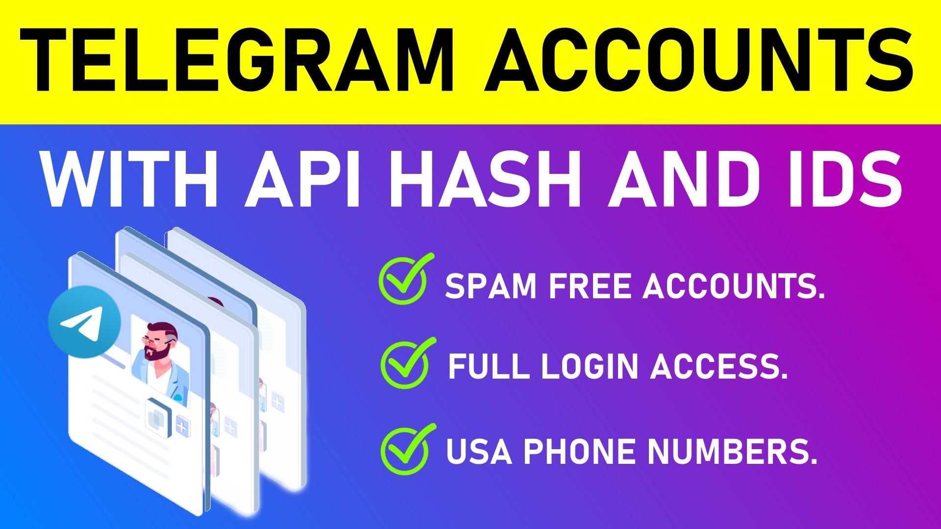 Get a Telegram Account with API Hash and Id