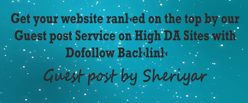 I Will Publish guest post with DFbacklink on Quality SItes