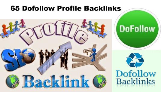 Will Create 65 HIGH Authority PROFILE BackLinks DA50 Plus Manual