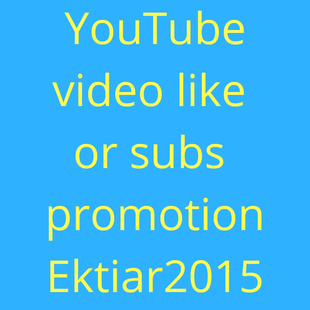 Hight quality video promotion and huge discount