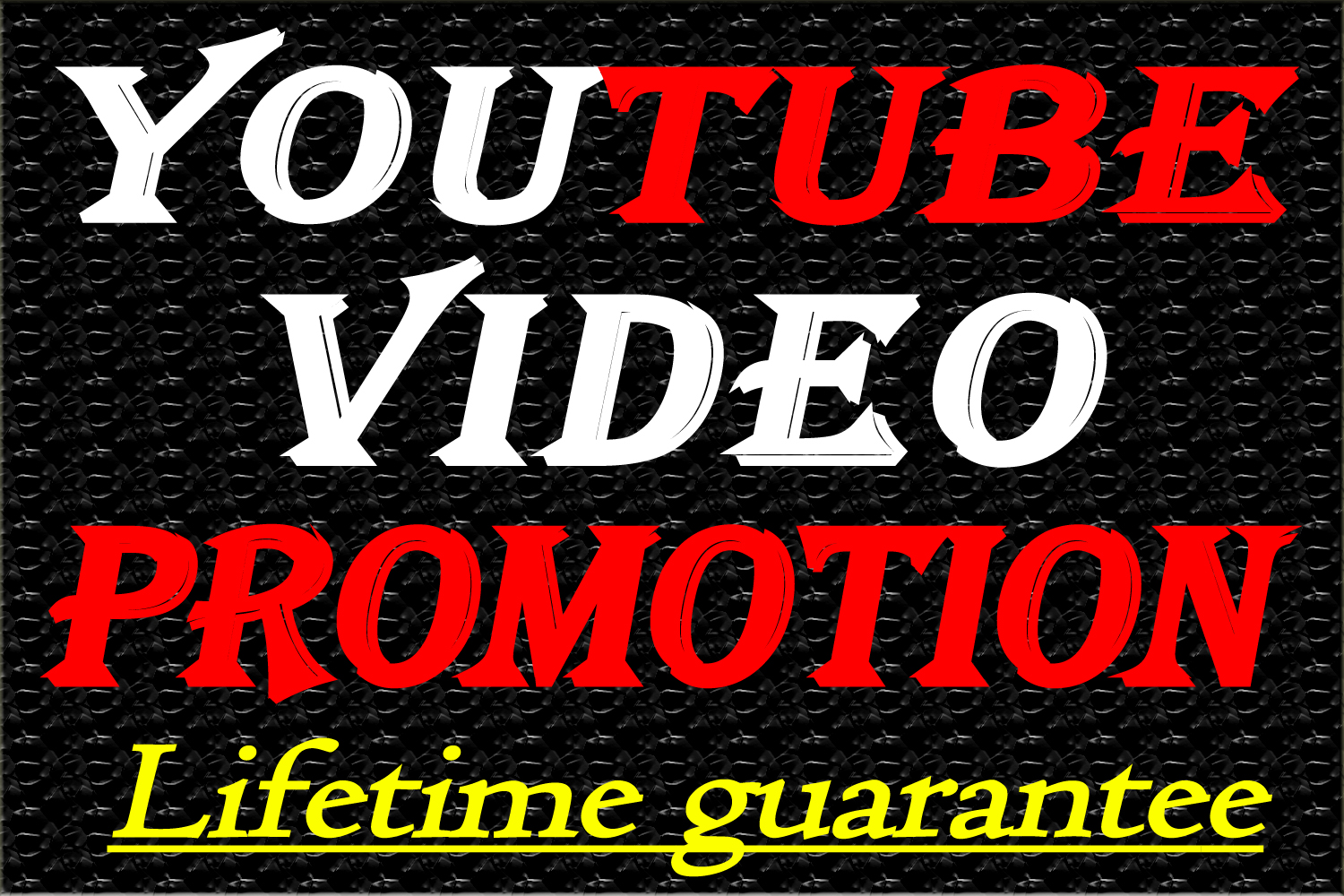 YouTube Video Marketing and Promotion with fast delivery