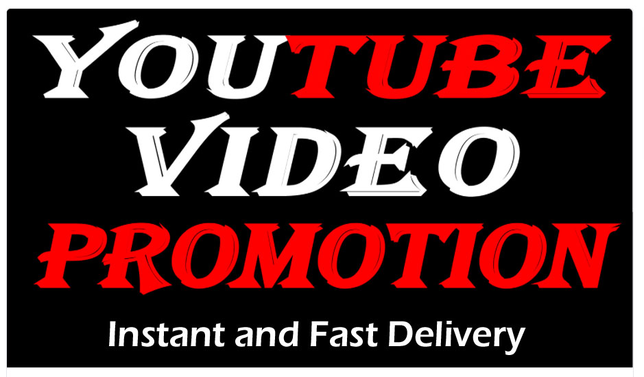 YouTube Video promotion and marketing with real audience