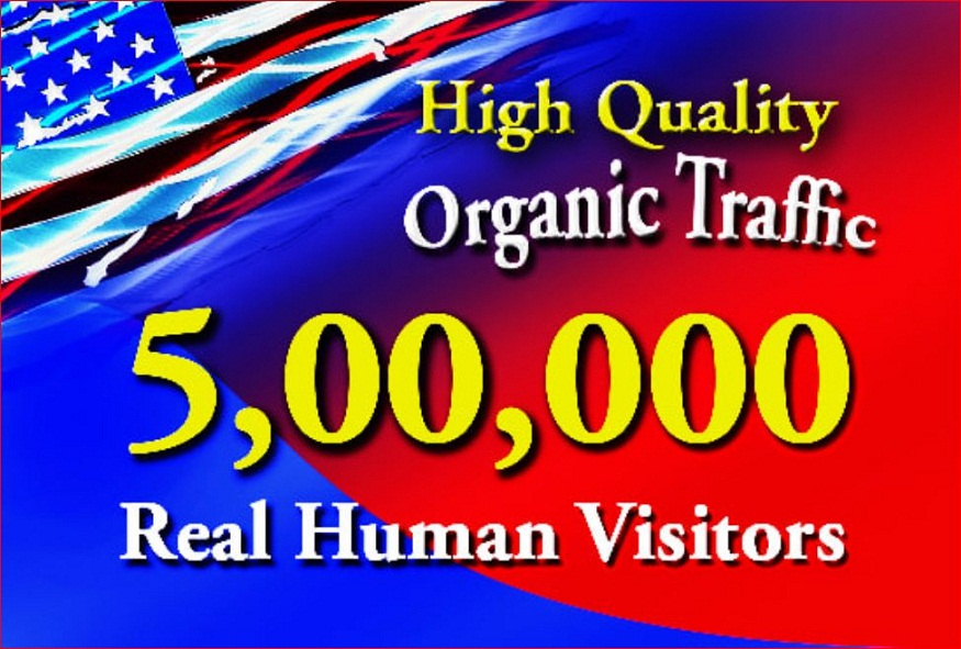 Send 500000 High quality real human WEB TRAFFIC to your website