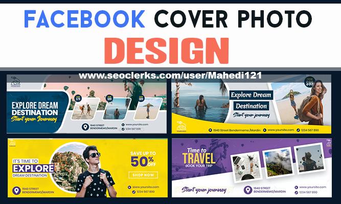 Design Attractive Facebook Cover photo