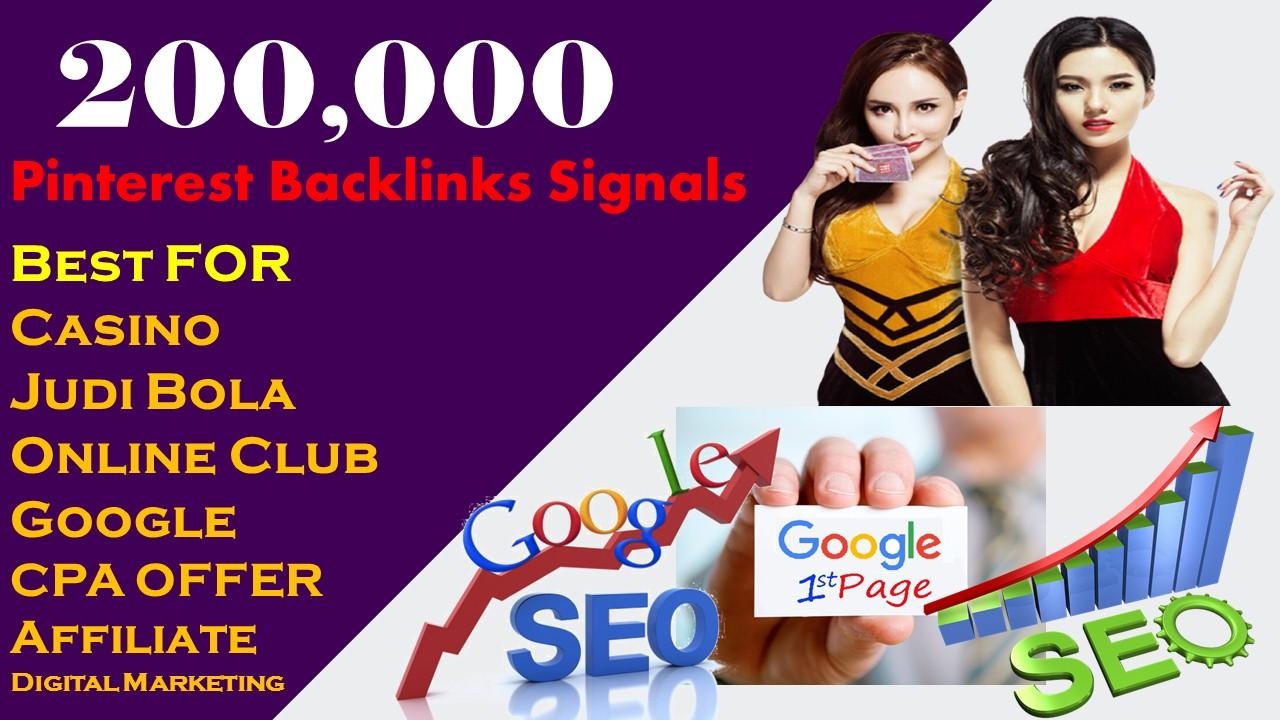 Gamer 200,000 Signals Backlink Judi bola online/Casino/Poker/Gambling/Sports Improve Google 1st page